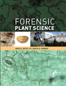 Forensic Plant Science cover 2016 (1)