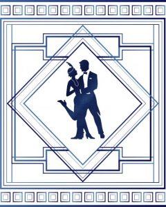 1920s dancing couple